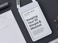 Keeping your ID simple and minimal.