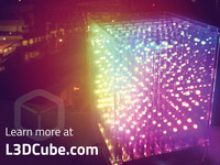 L3D Cube: The 3D LED Cube from the Future