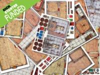 BattleZoneP Old School RPG Floor Plans