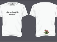 Be the Merry in Christmas!, Funny T's delivered early Dec.
