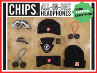 CHIPS® - Universal Bluetooth Wireless All-In-One Headphones