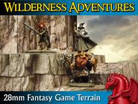 WILDERNESS ADVENTURES 28mm Scale Fantasy Gaming Terrain
