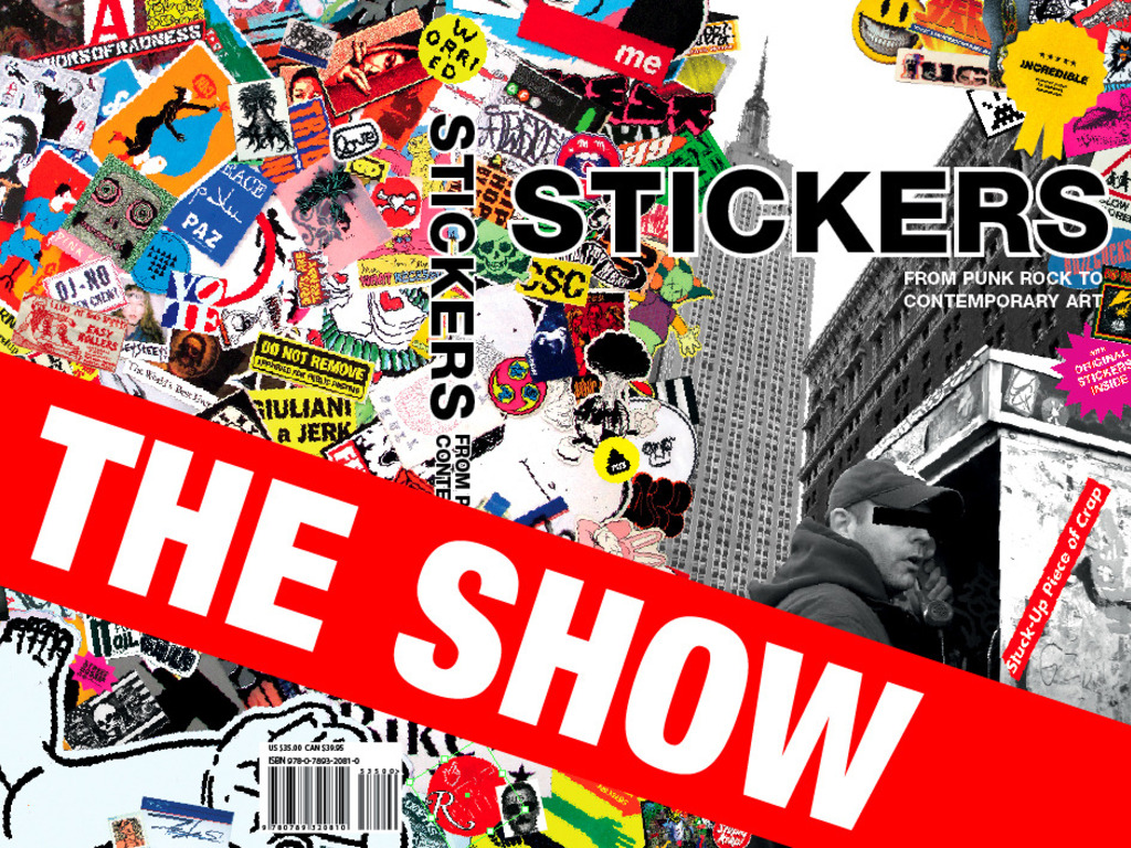 Stuck-Up Tour NYC Show - A History of Sticker Art's video poster