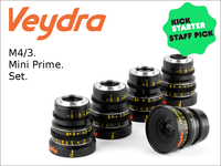 Veydra - M4/3 Cinema Lenses for GH4 and BMPCC