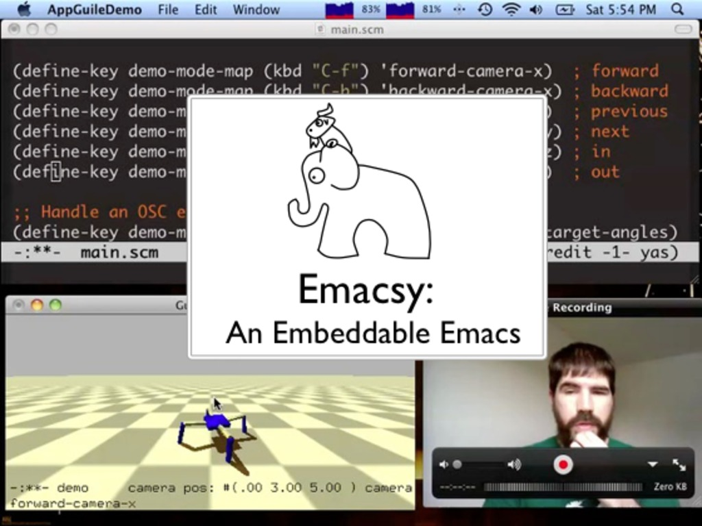 Emacsy, An Embeddable Emacs-like Library's video poster