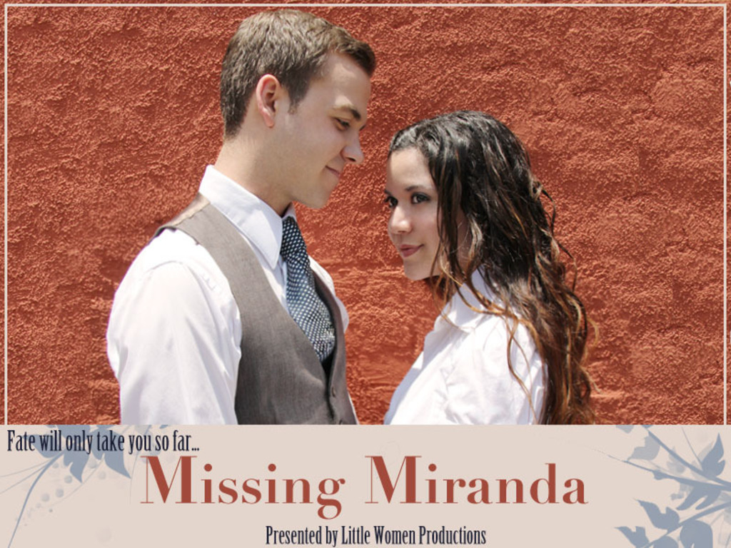 Missing Miranda - a feature film's video poster