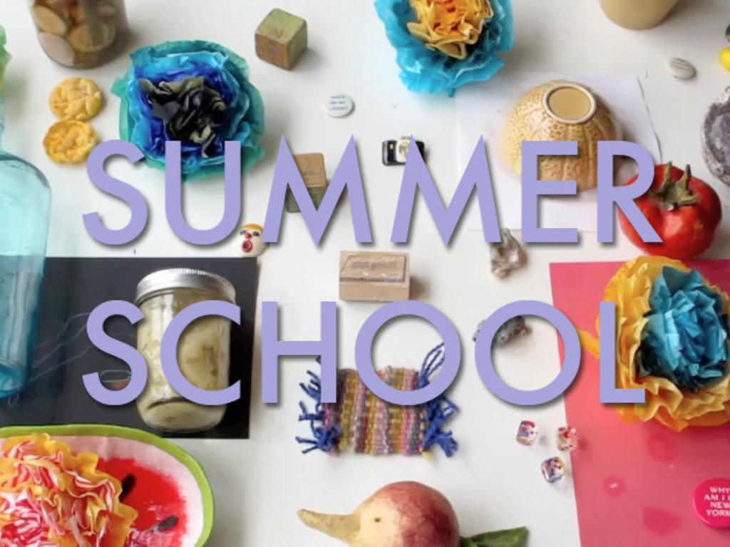 SUMMER SCHOOL's video poster