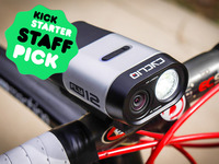 Fly12 Cycling Accessory | 1080p Camera & Front Light Combo