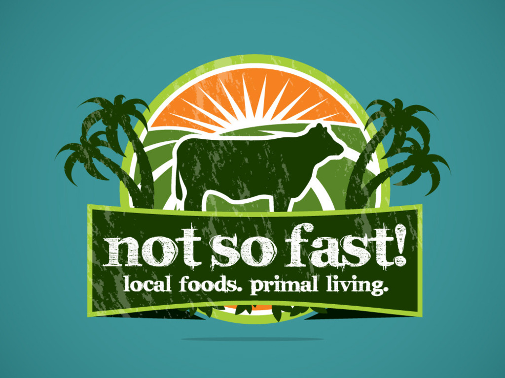 Not So Fast! Food Truck.  Local Foods.  Primal Living.'s video poster