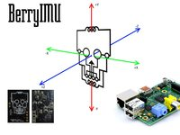 BerryIMU - Orientation sensor for the Raspberry Pi