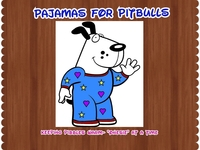 "Pajamas for PitBulls ~ keeping pibbles warm""onesie""at a time"