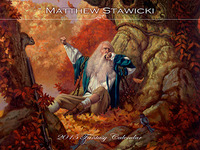 Matthew Stawicki 2015 Fantasy Calendar