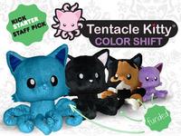 Tentacle Kitty: Color Shift - Plush