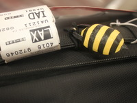 BeeQyn- A tracking beacon for luggage. On iPhone and Android