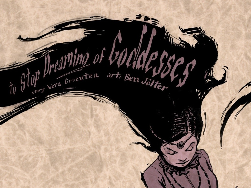 To Stop Dreaming of Goddesses: A Comic Book by Vera Greentea's video poster