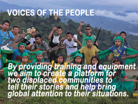 Voices Of the People Audio Project for Displaced Communities