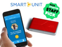 Smart Unit the 1st anti-theft luggage tracker in the world!