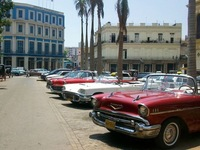 Cuba, a museum of old clasic cars