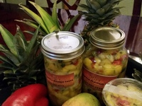 Seth's Pineapple Mango Salsa