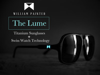 The Lume - Aerospace Grade Titanium Sunglasses That Glow!