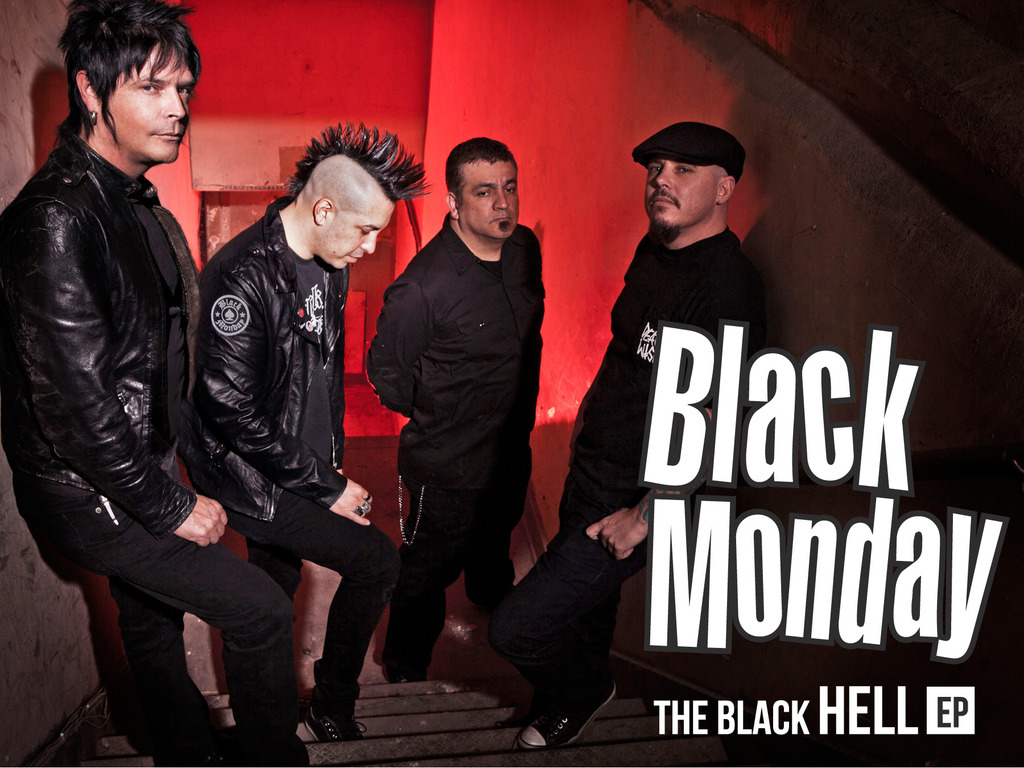 The Black HELL EP's video poster