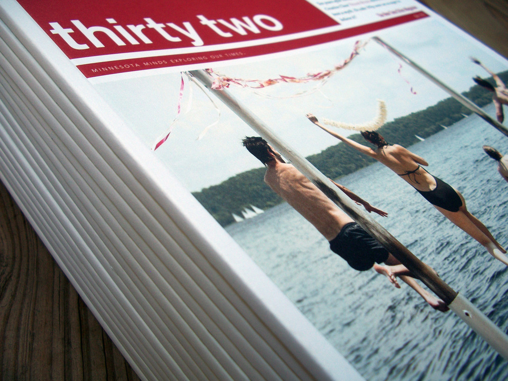 Thirty Two: Subscription Drive for Minnesota's New Magazine's video poster