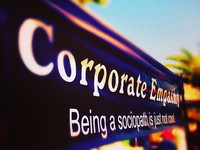 If Corporations Are People. Shouldn't They Act Like Adults?