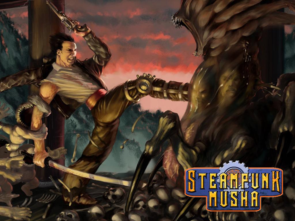Steampunk Musha: Victoriental Adventures's video poster