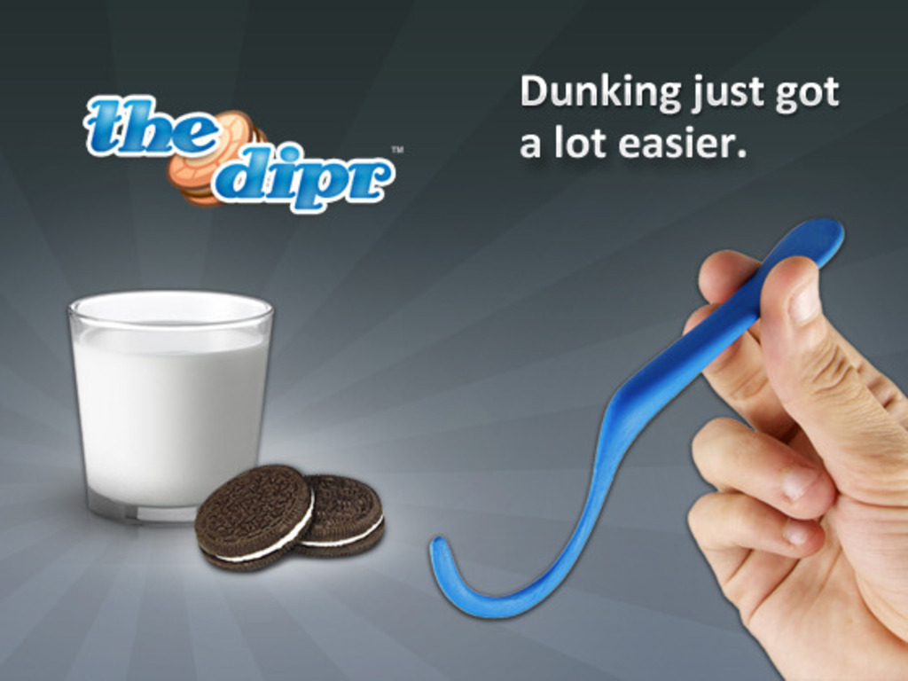 the dipr - a spoon for dunking sandwich cookies's video poster
