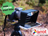 The Parrot | A compact teleprompter for DSLR cameras