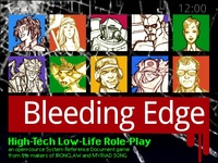 BLEEDING EDGE Tabletop Role-Playing Game