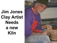 Help James A. Jones fire his art with a new Skutt kiln