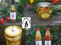No Joke Bhut Jolokia Ghost Pepper Hot Sauce Pickles & Relish