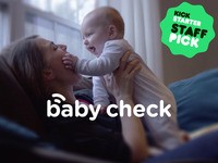 Baby Check - The Simplest Wearable Temp and Position Monitor