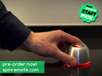 SPIN remote - An entire smart home at your fingertips.