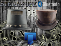 Functional Steampunk Hat with Bluetooth Speakers Project
