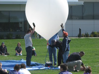 Edge Of Space Balloon Project for High Schools