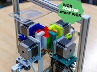 Ruku: a Rubik's cube solving robot for STEM education.