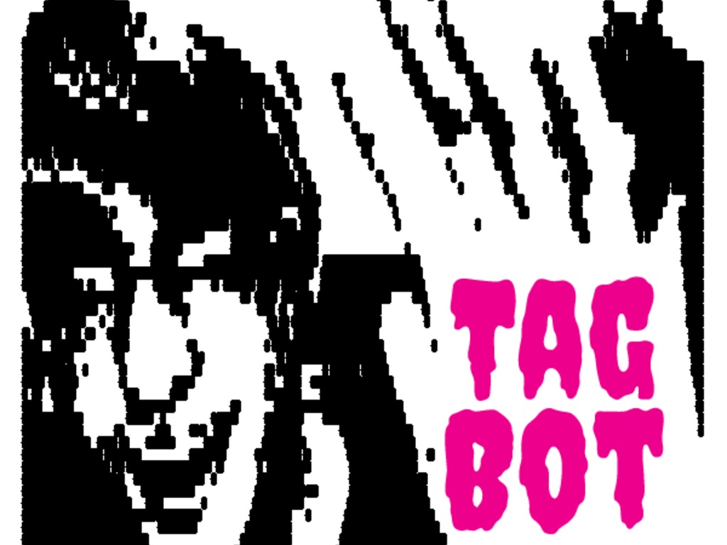 TagBot: The Spray Paint Photo Booth's video poster