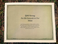 500 Strong: For the Generals in our midst!