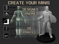 Create Your Minis -3D printed miniatures