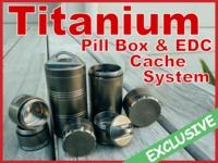 PillPots™: World's Greatest Pill Box And Titanium Cache