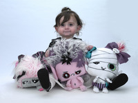 Vamplets: 4 New Designer Plush Baby Monster Toys.