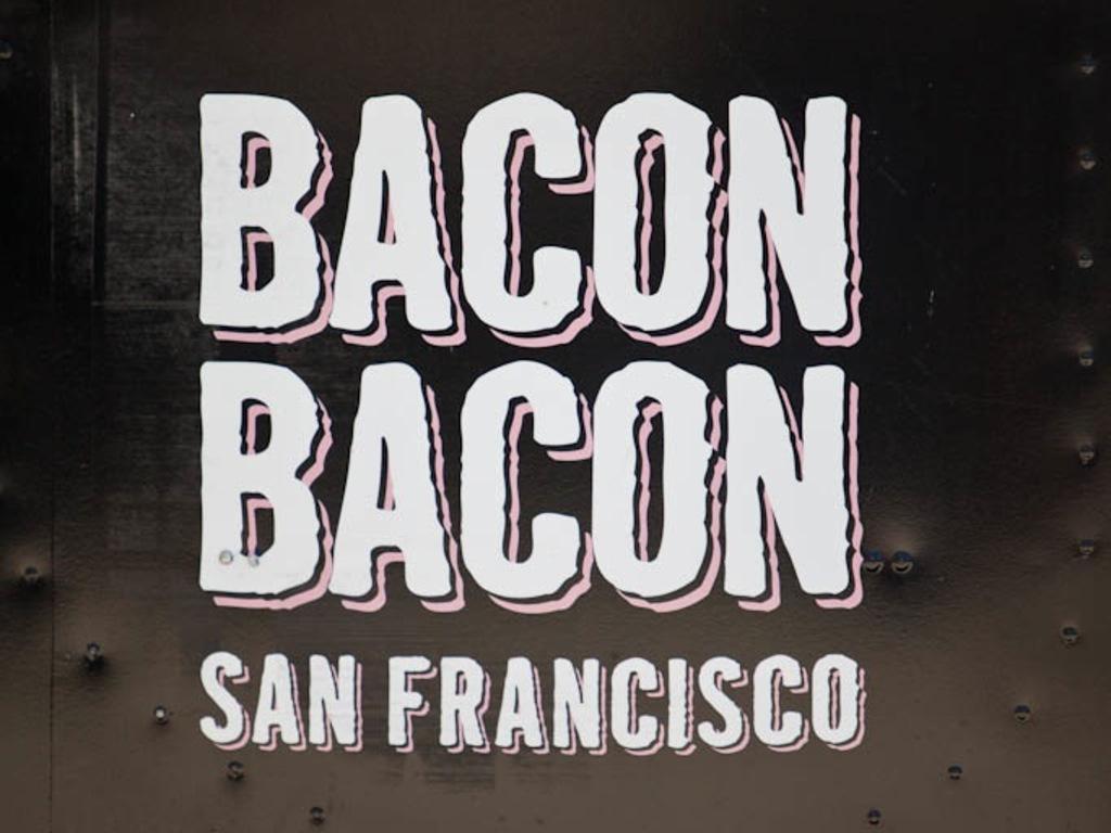 Bacon Bacon - Food Truck California's video poster