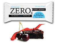ZeroBar - non-fat protein bar with cherry-brownie flavor