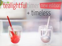 tealightful timer: world's first smart tea infuser