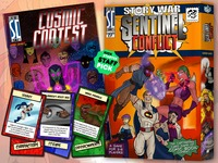 "Story War: Sentinel Conflict & ""Cosmic Contest"" Comic Book"