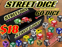 Street Dice, Racing for Pinks, ONLY $18