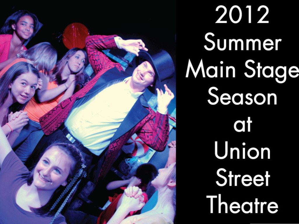 Main Stage Summer Season 2012 at Union Street Theatre's video poster