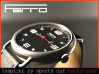 Ferro Watch: A Watch  Inspired by Sports Car Tachometer